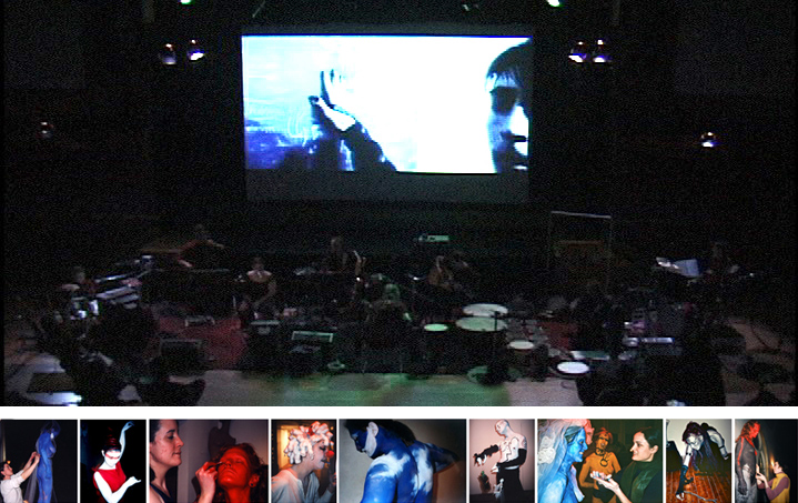 Neovoxer: A Living Film Event, pictures courtesy of the Cloud Club Archive