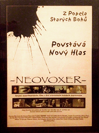 Neovoxer: Czech Poster, International Film Finale Plzen